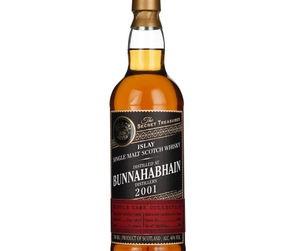The Secret Treasures Bunnahabhain 15 years 2001 70CL