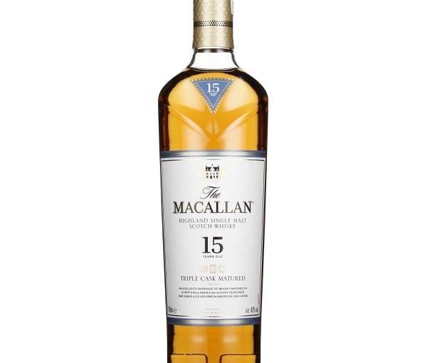 The Macallan 15 years Triple Cask Fine Oak 70CL