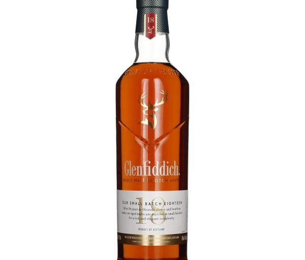 Glenfiddich 18 years Small Batch Single Malt 70CL