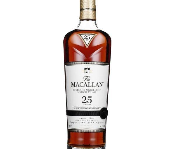 The Macallan 25 years Sherry Oak 70CL