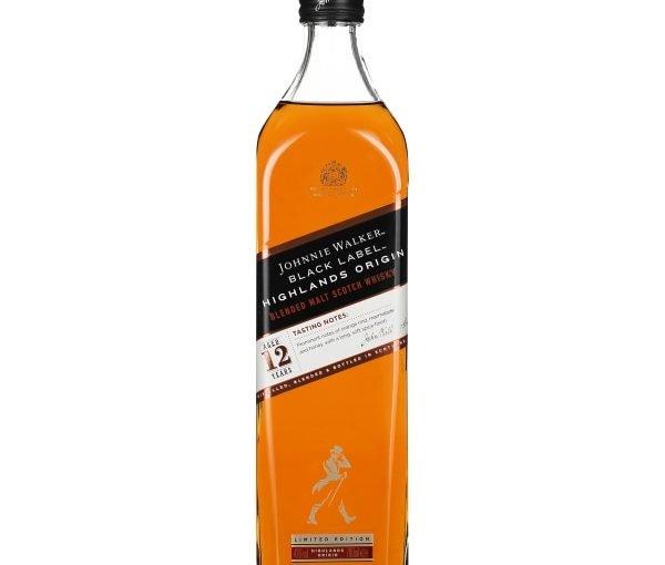 Johnnie Walker Black Label Highlands Origin 70CL