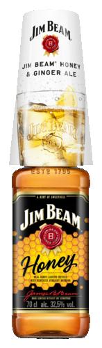 Jim Beam Honey Summer Sleeves 70CL