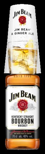 Jim Beam White Summer Sleeves 70CL