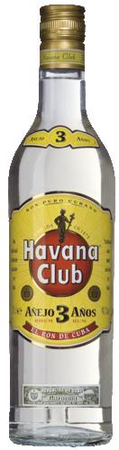 Havana Club Añejo 3 Años 70CL