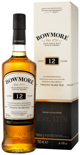 Bowmore 12 Years Single Malt Whisky 70CL 70CL
