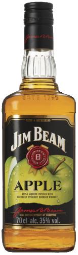 Jim Beam Apple Flavored Bourbon Whiskey 70CL