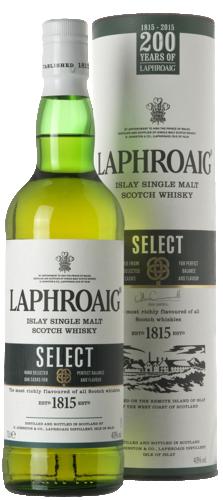 Laphroaig Select Cask Single Malt Whisky 70CL